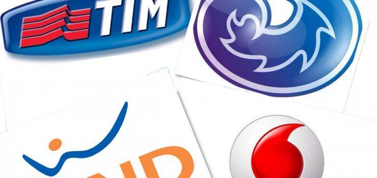 TIM, Vodafone, Wind, 3 Italia