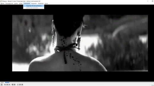 Come aggiungere sottotitoli con VLC