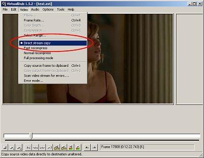 Come funziona VirtualDub Mod