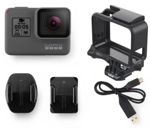 Componenti della GoPro Hero5 Black