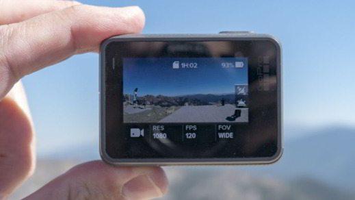 Display 2 pollici della GoPro Hero5 Black