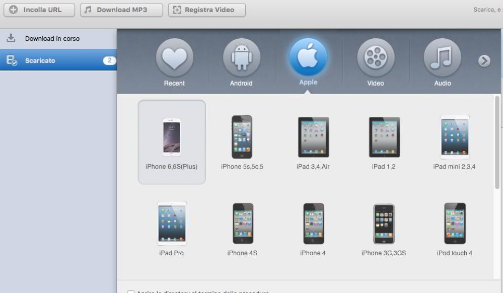 iTube studio per mobile