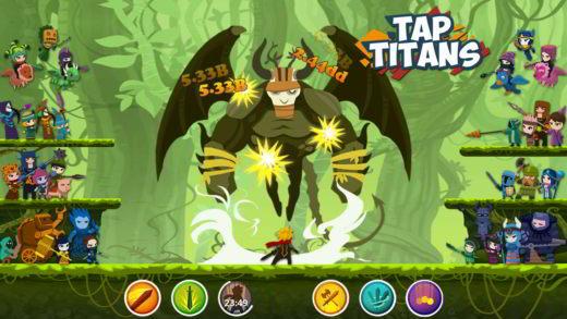 Le soluzioni di Tap Titans 2