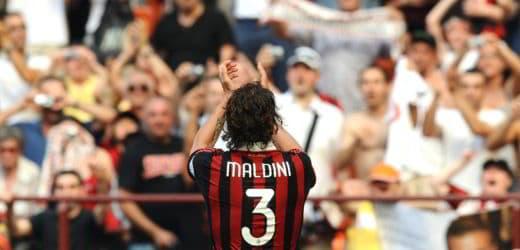Paolo Maldini record presenze con il Milan