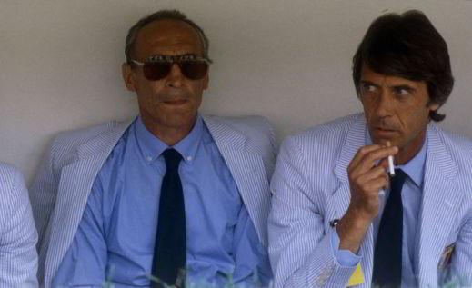 Bearzot e Maldini nell'82