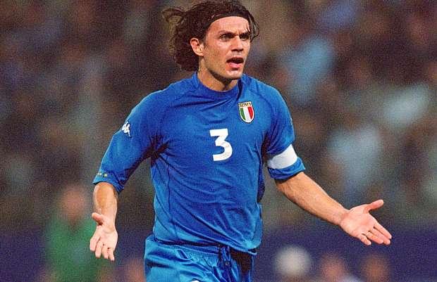 Paolo Maldini e la Nazionale