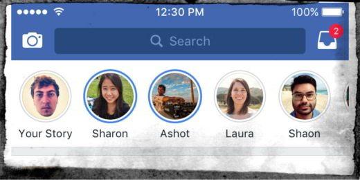 Come creare le Storie di Facebook