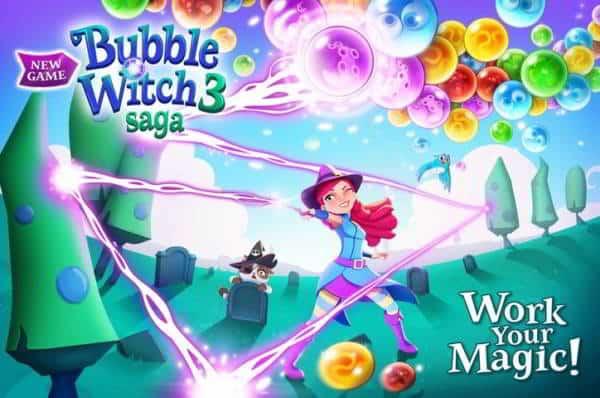 Le soluzioni di Bubble Witch Saga 3