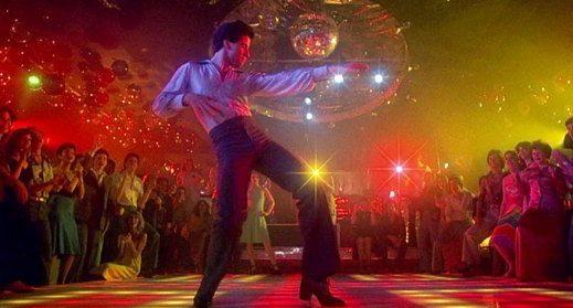 John Travolta in discoteca