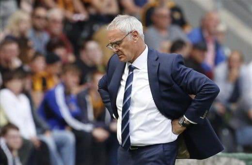 Ranieri arrabbiato dopo sconfitta