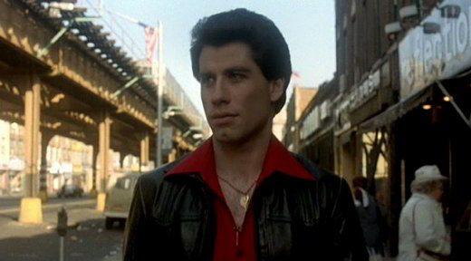 John Travolta alla fine del film