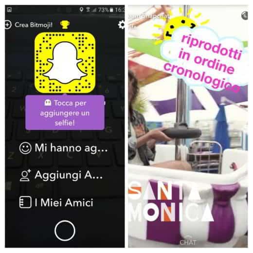come utilizzare snapchat