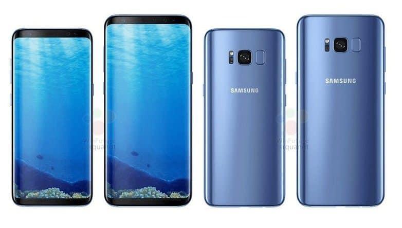 Caratteristiche tecniche Samsung Galaxy S8 e S8 Plus