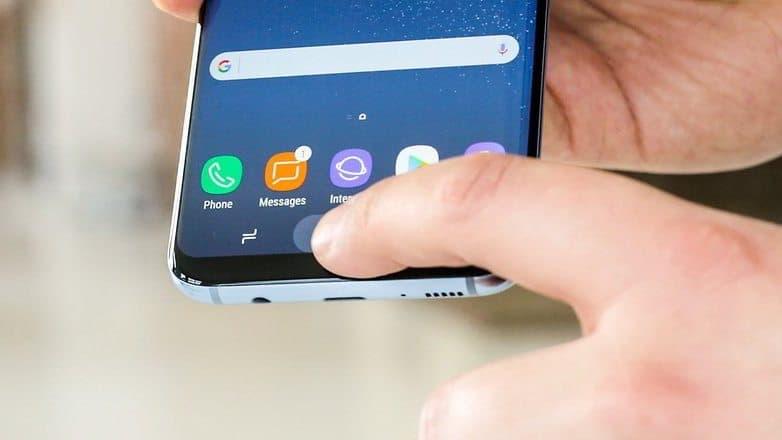 tasto Home Samsung Galaxy S8