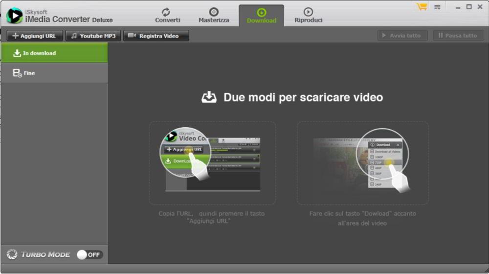Due modi per scaricare video online