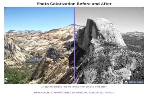 Come dare colore alle vecchie foto in bianco e nero in automatico