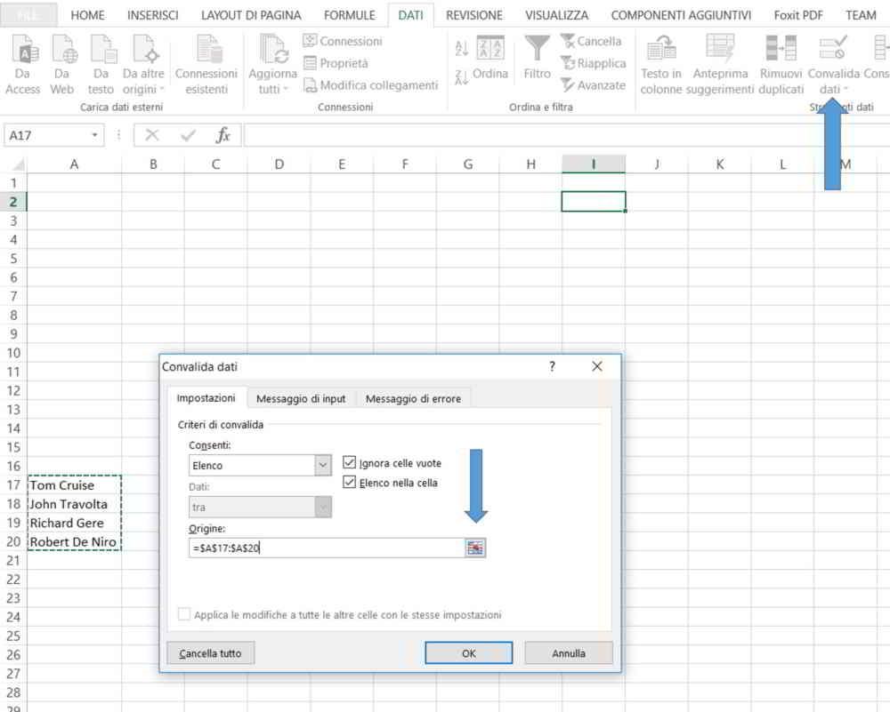 Come aggiungere foto negli Elechi Excel