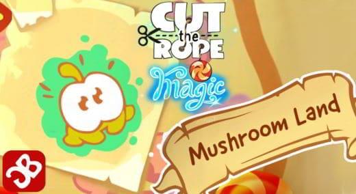 le soluzioni di Cut The Rope Magic Terra dei Funghi
