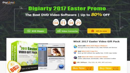 Digiarty 2017 Easter Promo