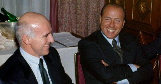 Berlusconi con Arrigo Sacchi