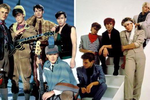 Duran Duran VS Spandau Ballet