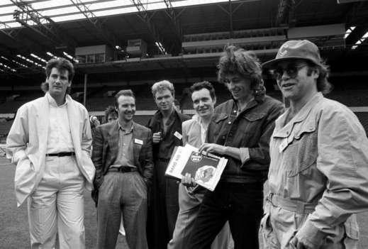 Spandau Ballet Band Aid 1985