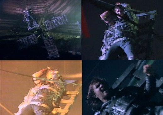 Wild Boys-il video con Simon Le Bon legato alla ruota