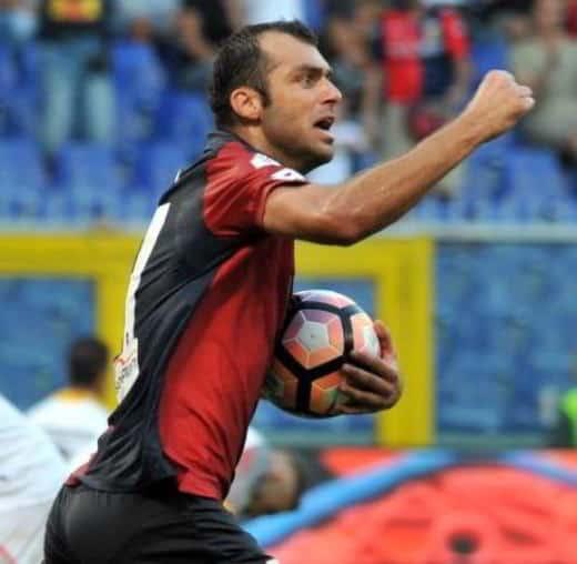 Pandev nella 35 giornata di Serie A