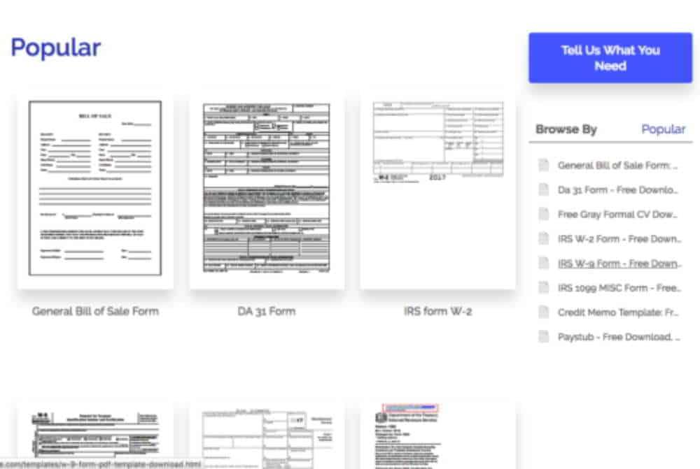 Modelli di PDF