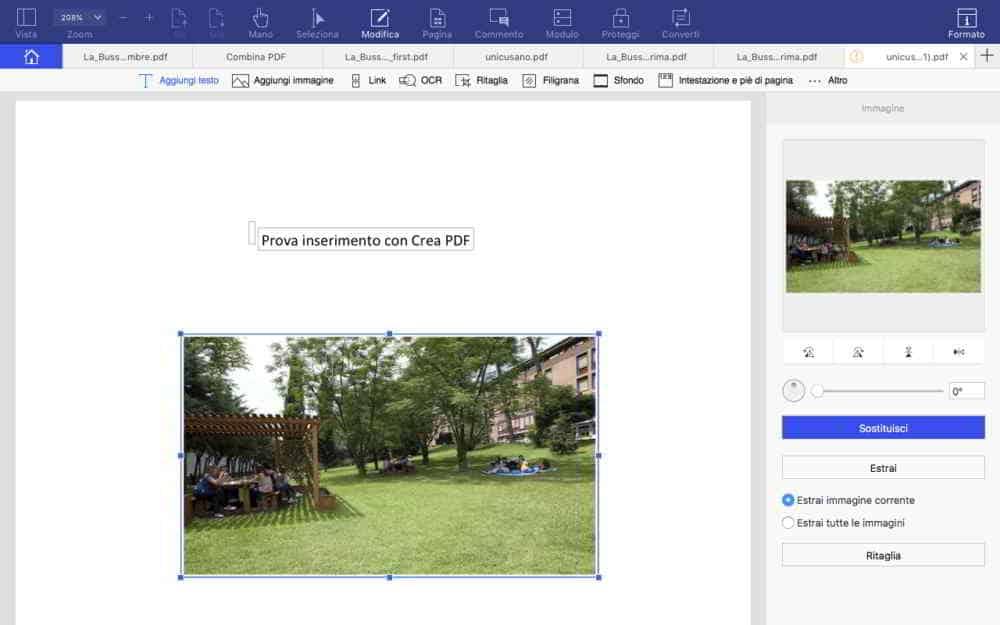 Crea PDF