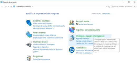 Come impostare la lingua italiana su PC