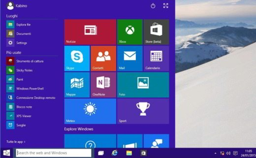 Windows 10 cambiare lingua