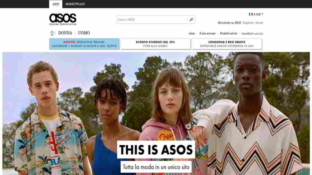 negozi online abbigliamento economici