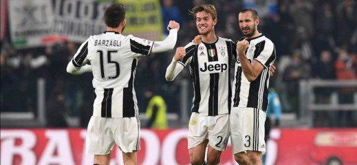 La difesa della Juventus