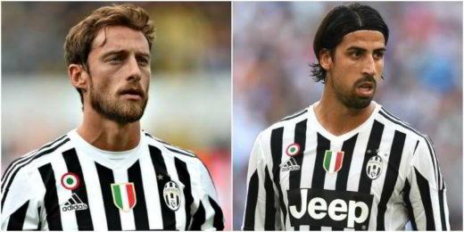 Marchisio e Khedira