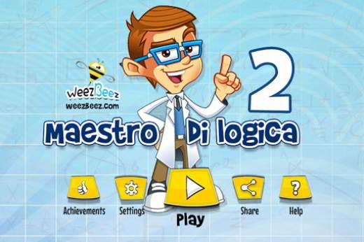 Le soluzioni di Maestro di Logica 2
