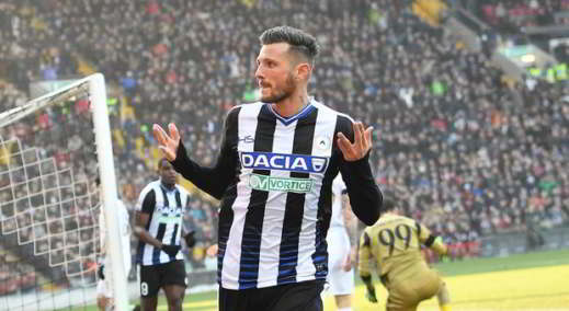 Thereau dell'Udinese