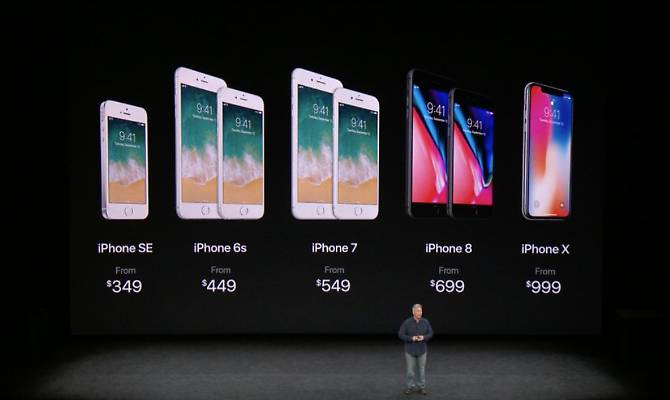 Apple presenta iPhone X, iPhone 8 e iPhone Plus