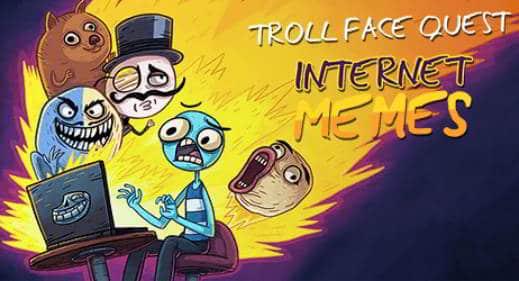 soluzioni di tutti i livelli di Troll Face Quest Internet Memes