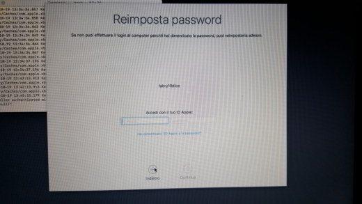 Come recuperare password di accesso Mac OS X