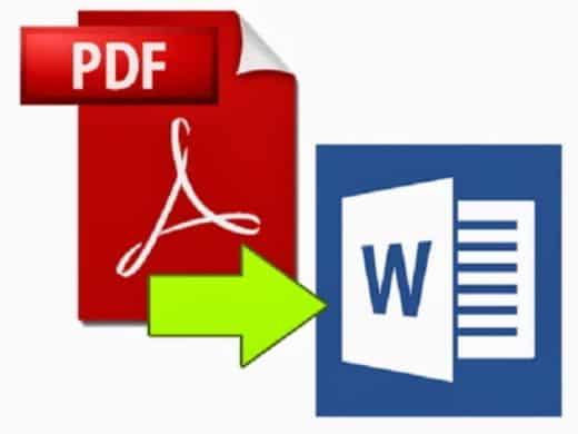Come convertire PDF scannerizzati in Word