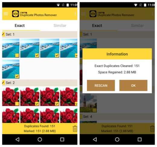Come eliminare foto duplicate su Android e iOS