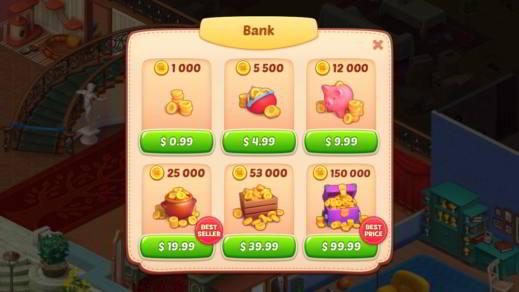 Come ottenere monete in Homescapes