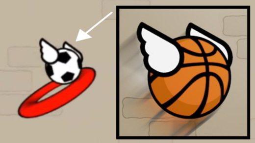 Come sbloccare palle, ali, canestri e mistery skin in Flappy Dunk