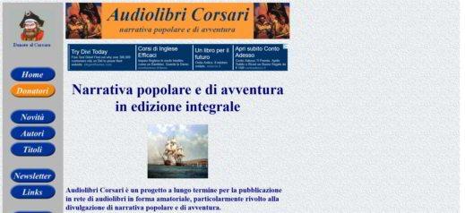 Audiolibri Corsari