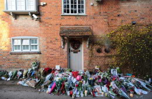 La casa di George Michael a Londra
