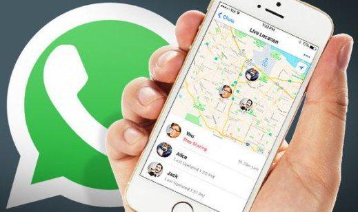 Come condividere la posizione attuale su WhatsApp
