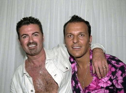 George Michael e Anselmo Feleppa