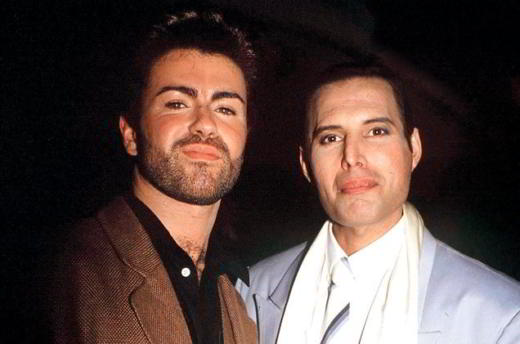 George Michael e Freddie Mercury