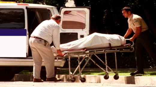 Il corpo senza vita di George Michael